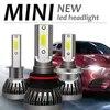 Kit de phares de voiture H7 H1 ampoules LED H4 9003 H8 H11 Mini lampe 9005 9006 120W 12000lm 6000K 2 pièces