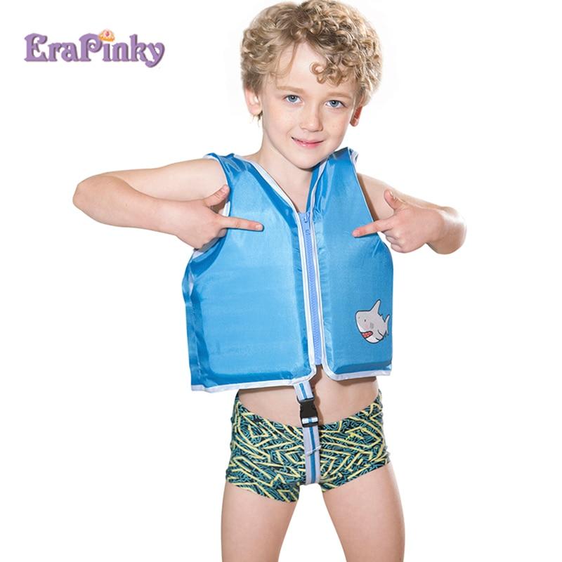Erapinky Blue Shark Toddler Life Jacket Floatation Vest for Kids Buoyancy Baby Life Vest Pool Swimwear Children Swim Trainer