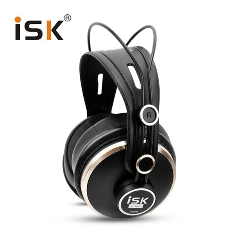 Luxuriöse ISK HD9999 Pro HD Monitor Kopfhörer Komplett geschlossenen Überwachung Kopfhörer DJ/Audio/Mischen/Aufnahme Studio Headset