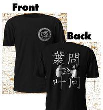 2019 mode nouvelle aile Chun Kung Fu IP homme Bruce Martial Art noir t-shirt M-3XL t-shirt