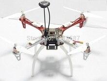 Rc zangão f450 quadcopter flamewheel kit/4 eixos fpv + apm 2.8/7 m gps + owluav 2212 motor + 30a esc suporte + trem de pouso f450