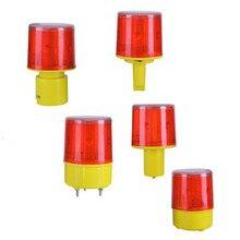 Nieuwste LED Zonne-energie Verkeer Waarschuwingslampje Veiligheid Signaal Kegel baken solar Alarm lamp toren opknoping licht outdoor night lamp