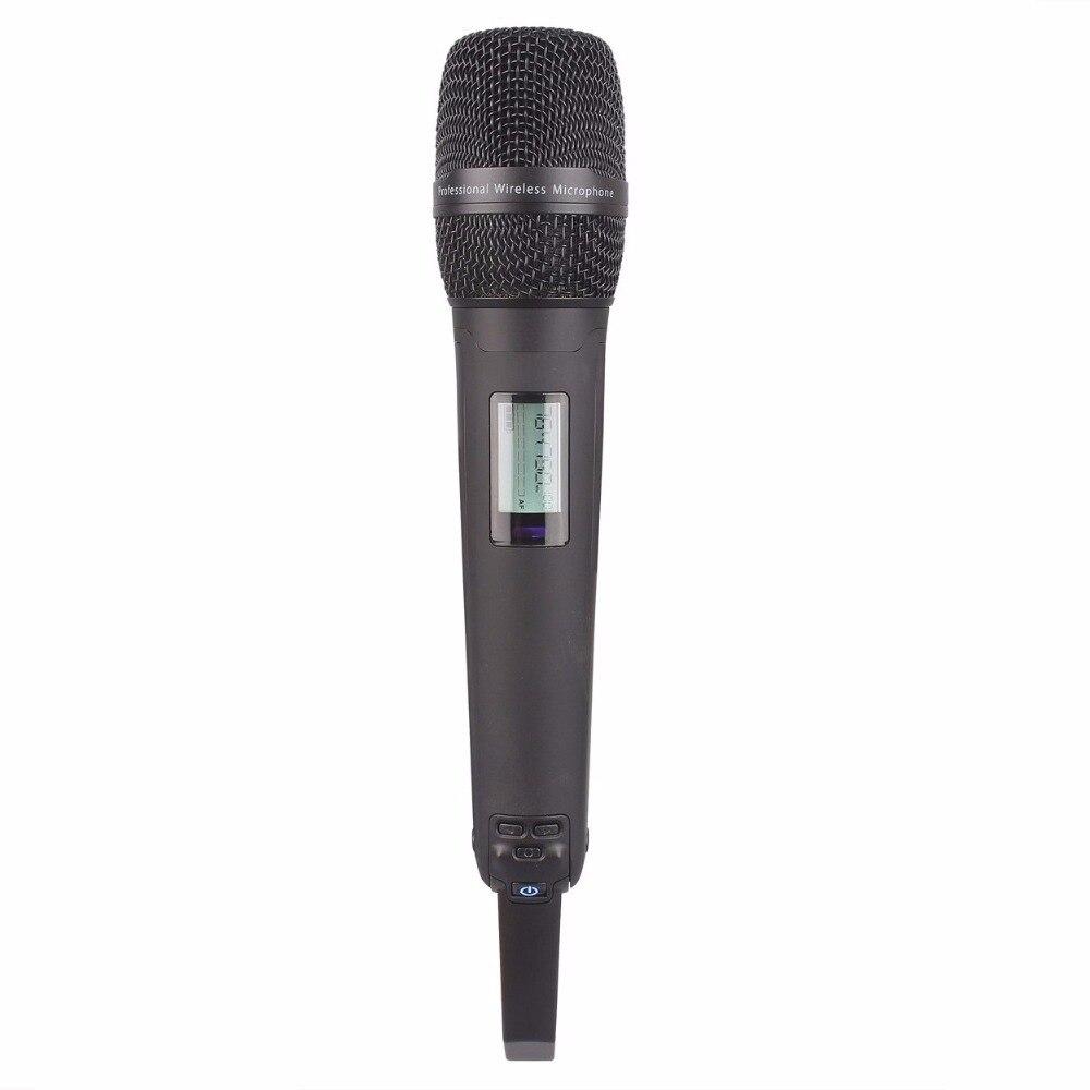 Microfone portátil skm9000 preto para sistema sem fio 8200 /8400