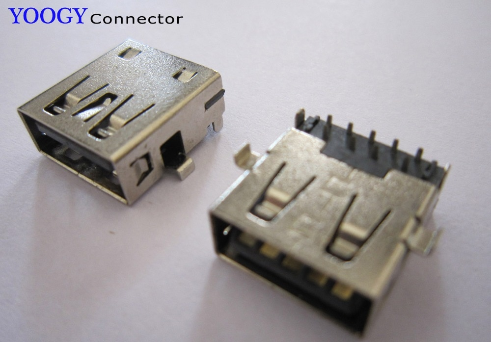 Usb3.0 soquete apto para dell inspiron m301z n301z série placa-mãe fêmea conector usb