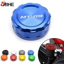 Capuchon de couvercle de réservoir de liquide   Accessoires de moto en aluminium de frein arrière de haute qualité pour Yamaha MT09 MT 09 MT09 traceur 13-18