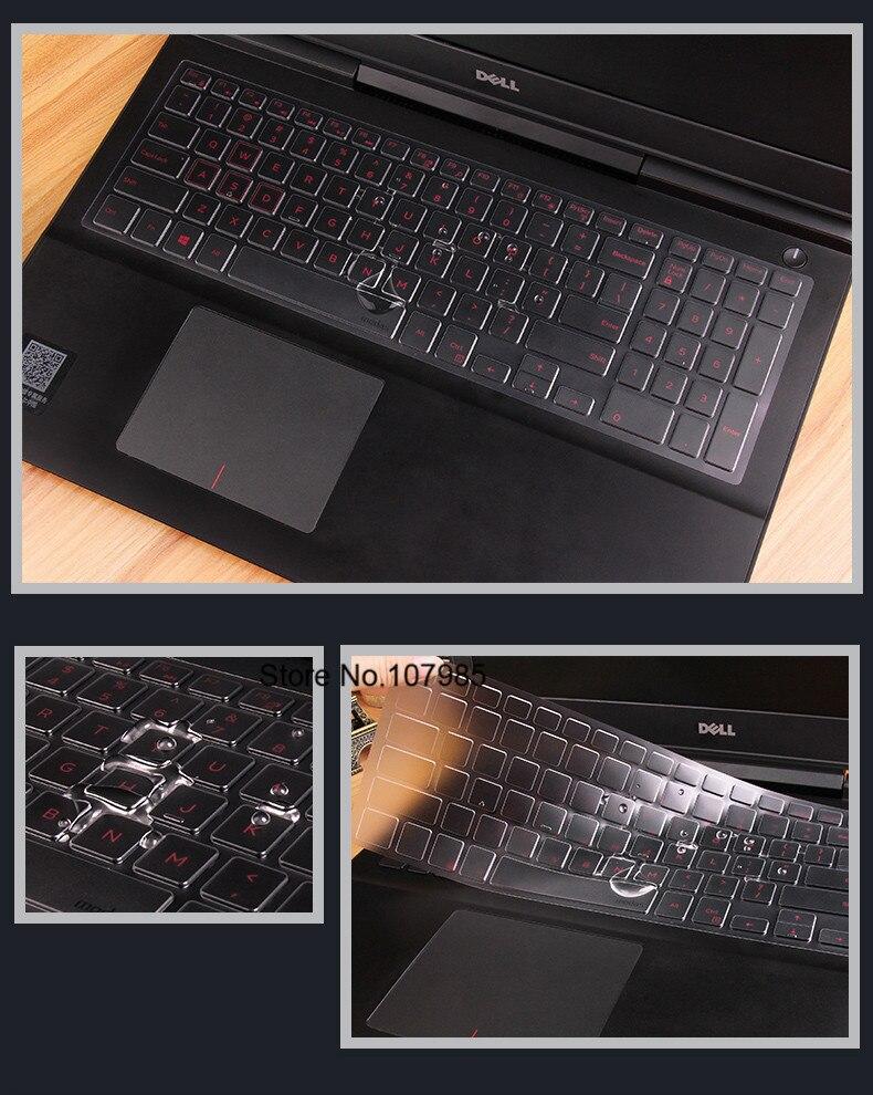 "15,6 ""Серия Клавиатура крышка защита для клавиатуры ноутбука Кожа для 2019/2018 Dell Inspiron 15 3000 5000 7000 15,6""/Dell G3 G5 G7"