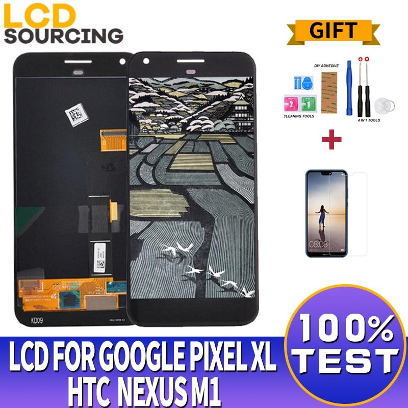 "5,5 ""para Google Pixel XL pantalla LCD MONTAJE DE digitalizador con pantalla táctil para HTC Nexus M1 reemplazo de pantalla"