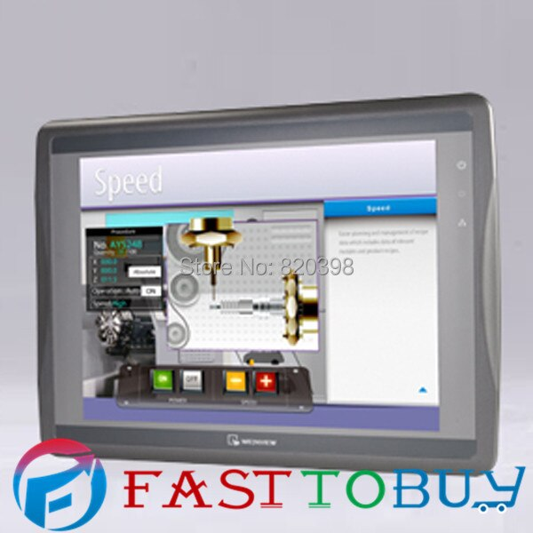"12.1 ""inch Touch Panel HMI Display Screen 1024*768 Ethernet USB Host SD Karte MT8121iE Weinview mit Programmierung kabel & Software"