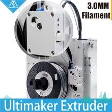 Pièces dimprimante 3D mise à niveau Ultimaker 2 + extrudeuse étendue suite dalimentation um2 extrusion adaptée pour 1.75/3mm filament olsson bloc kit
