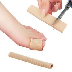 15 centímetros Tecido + Almofada de Gel Tubo Calos e Calosidades, Protetor Do Dedo Do Pé, Ortopedia Hálux Valgo, joanete Guarda para palmilhas Pés Cuidados
