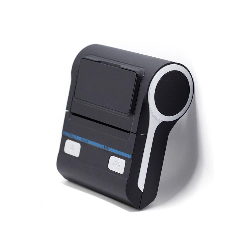 Impresora de recibos térmica portátil de 80mm Bluetooth4.0, impresora de tickets USB Android IosThemral, impresión inalámbrica de tickets de teléfono portátil