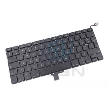 UK A1278 keyboard with backlight for Macbook pro 13.3 inches laptop MD101 MD 102 keyboards with back