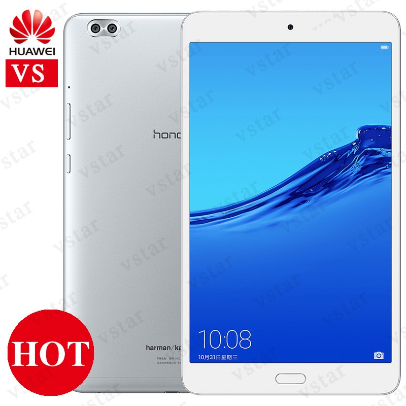 Original Huawei Honor Waterplay 8.0 inch 4GB 64GB Tablet PC Kirin 659 Octa Core Android 8.0 Support OTG Fingerprint unlock