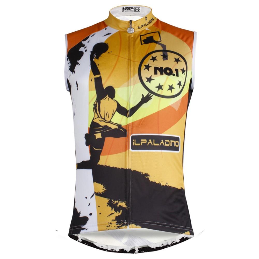 Camisetas de Ciclismo de secado rápido de 100% poliéster, sin mangas para hombre, cuello redondo, Ciclismo, talla S a 6XL