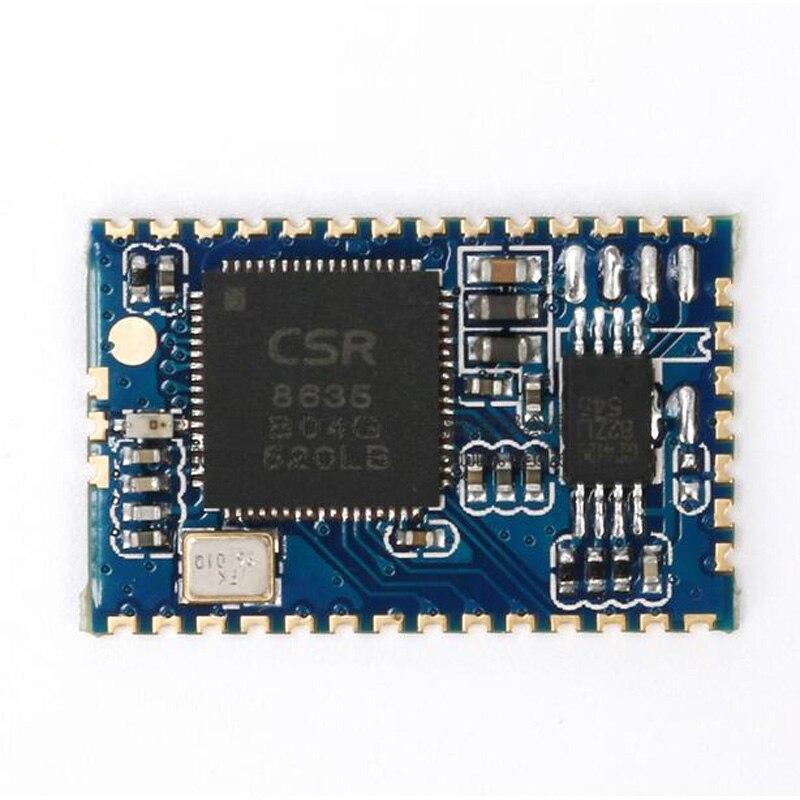 2 unids/lote Bluetooth 4,0 estéreo de Audio y de módulo maestro CSR8635 amplificador altavoz