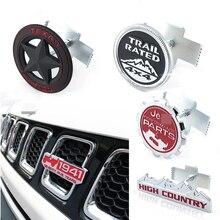 Auto Front Grill Trim Sport Strip Cover Sticker Voor Jeep Renegade Kompas Wrangler JK 4x4 Grand Cherokee Chevrolet ford Focus 2 3