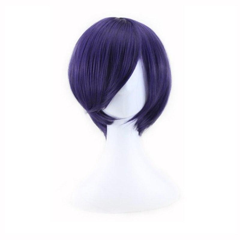 東京グール桃kirishimaかつらコスプレ衣装kirishimaとか女性短い合成ヘアハロウィン+ウィッグキャップ