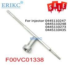 ERIKC FooV C01 338 samochodowa pompa paliwa zawór wtryskowy F00VC01338 zawór sterujący common rail Arm F ooV C01 338 dla HYUNDAI IVECO
