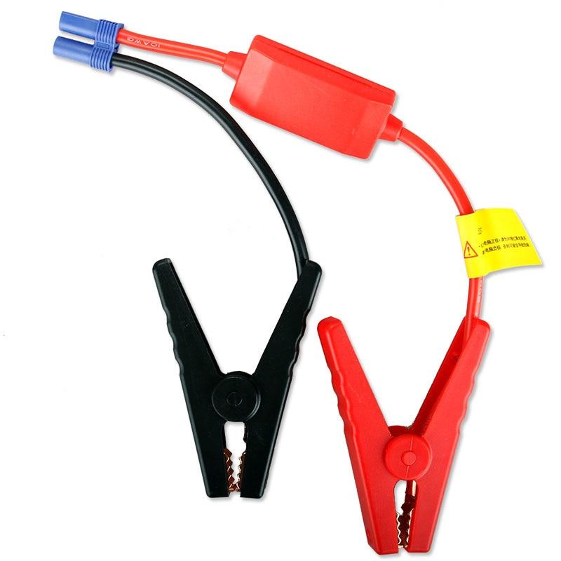 Poder de Arranque de Emergência Carro multifuncional Clipe, terminal de carro Clip-on Power Jack Soquete Adaptador EC5 Cabo/Frete Grátis/1 pc