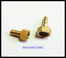 Adaptateur coupleur en laiton   15 pièces/lot, 6mm-1/2