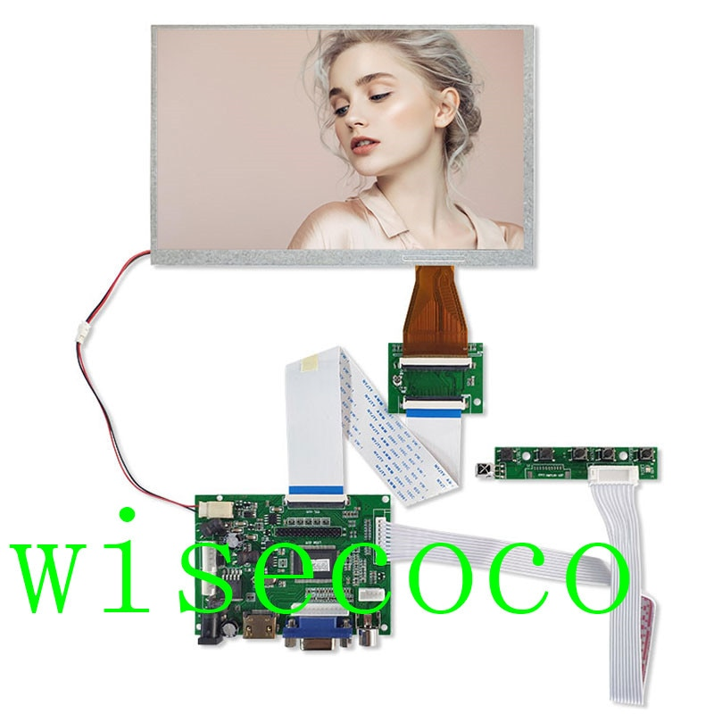 TTL Controller Board HDMI for A070VW04 V0 800*480 Micro USB 60 Pins LCD Screen