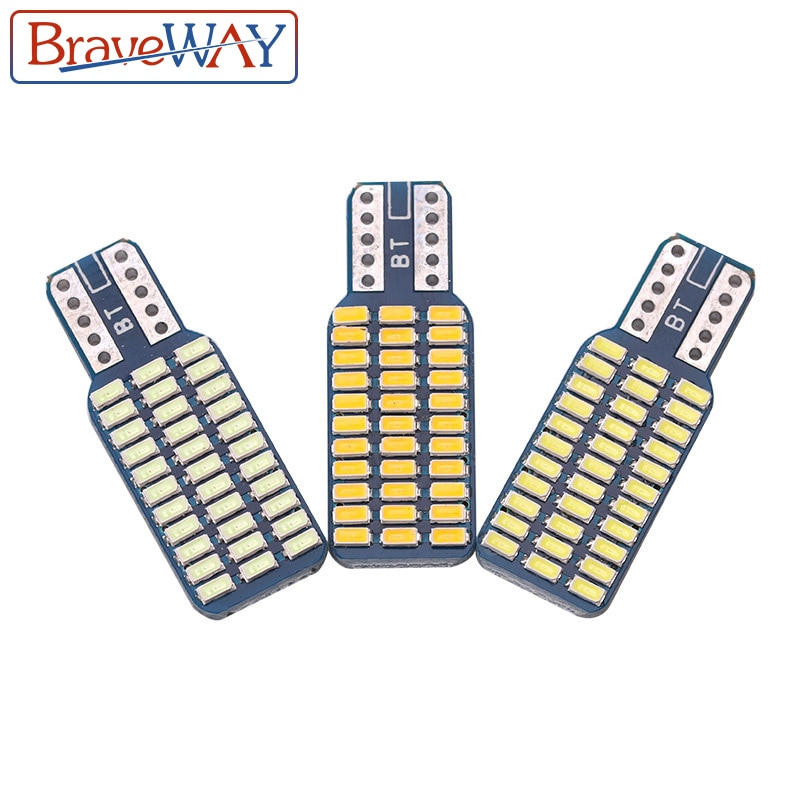BraveWay T10 192 194 168 W5W Led-lampen 33 SMD 3014 Auto Schwanz Lichter Dome Lampe Weiß DC 12V canbus Fehler Freies