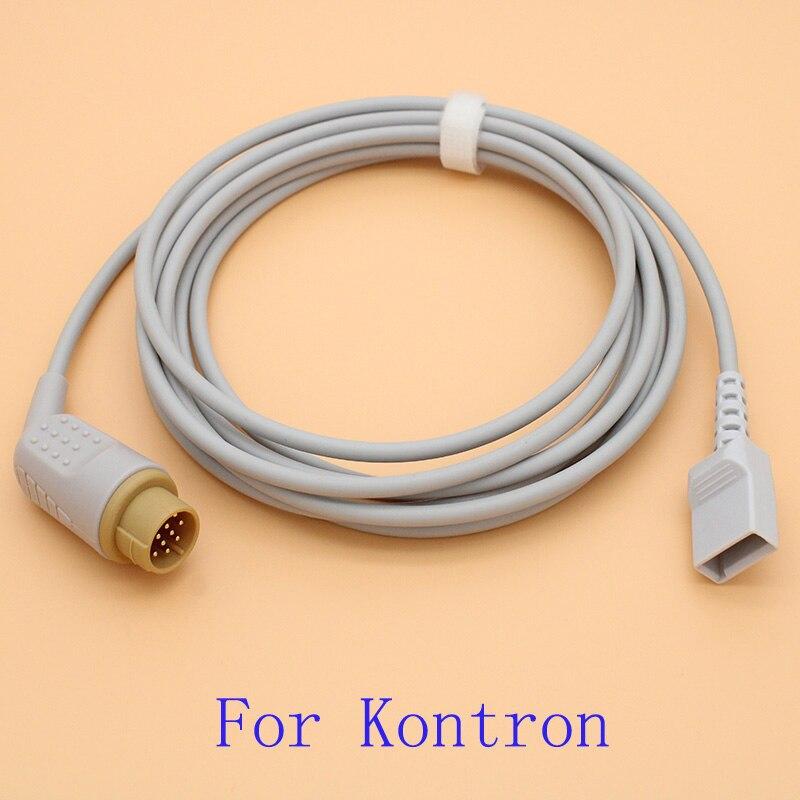 ¡Compatible con Kontron Minimon/Fetalmon/Fetalogic/Supermon Utah IBP sensor cable troncal y desechables transductor de presión!