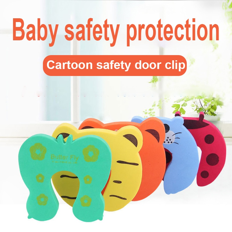2018/LOT High Quality Baby Care Safety Door Stopper Protecting Product Children Kids Safe Carton Anticollision Baby Protection