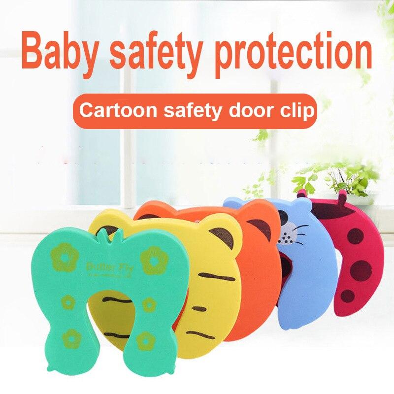 2018/lot alta qualidade cuidado do bebê porta de segurança rolha proteger o produto crianças caixa segura proteção do bebê anticollision