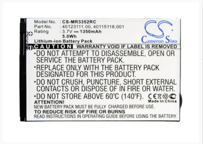 Cameron Sino batería de 1500 mAh para NOVATEL inalámbrico MiFi 3352 de 4082 de 4082 4G 4510 4510L 4510L 4G LTE miFi3352 MiFi4082 MIFI451