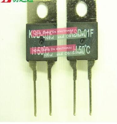 KSD-01F D100 interruptor normalmente fechado temperatura atingiu 100 graus automaticamente se conectar automaticamente a cond