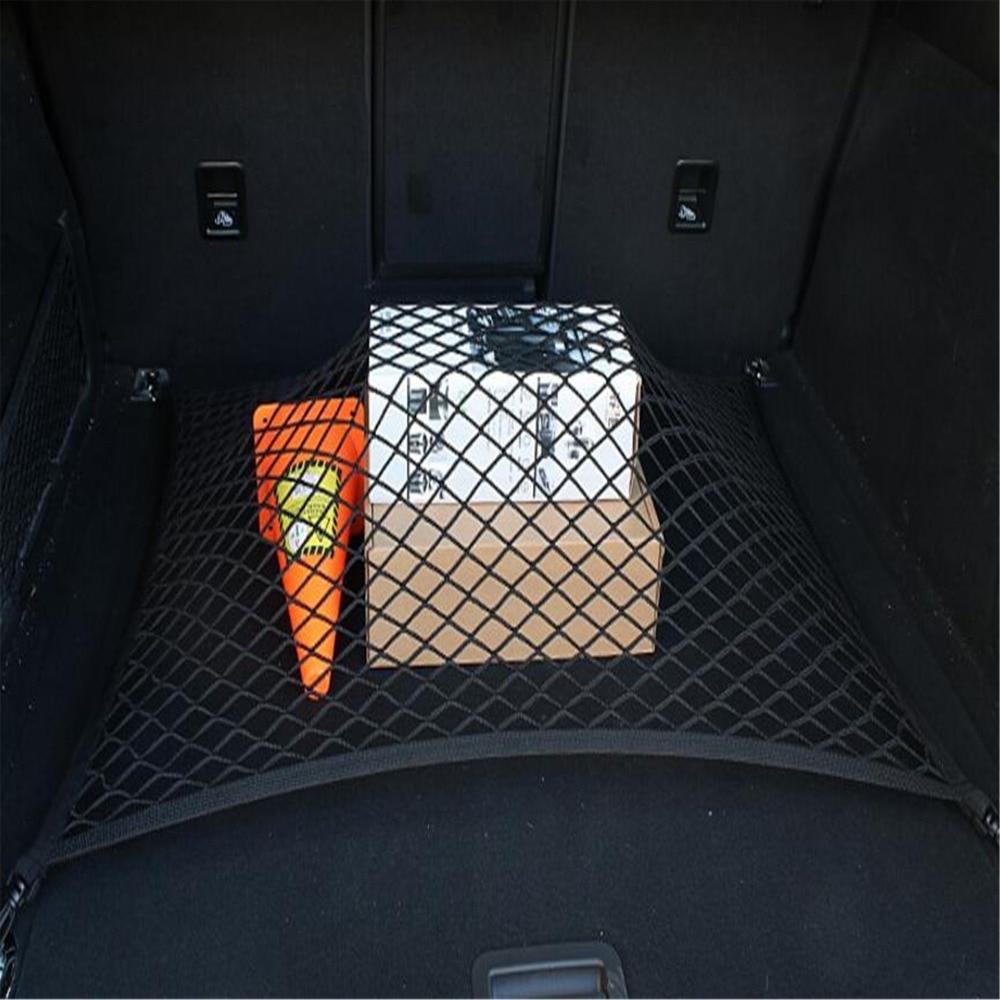 4 ganchos 60*80 cm coche Universal maletero Red organizador de almacenamiento de malla para Buick Regal Lacrosse Excelle GT/XT/GL8/ENCORE/enclave