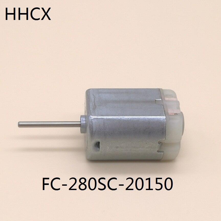 1 шт. FC-280SC-20150 микро двигатель постоянного тока FC-280SC щетка из драгоценного металла 12VDC 11800 об/мин высокоскоростной двигатель FC280