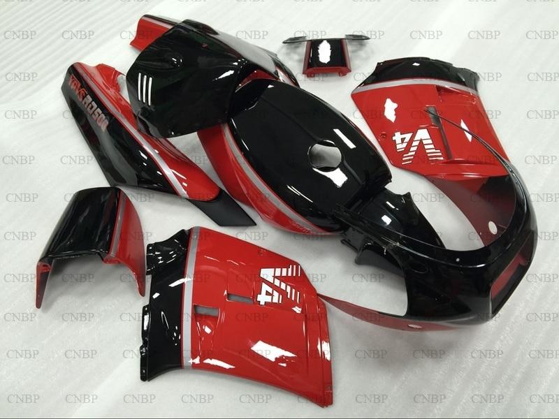 RD500LC 1985 Обтекатели RZV 500 1985 Обтекатели RD500LC 85 красный черный обтекатели