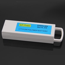 1PCS 11,1 V 6400mAh Für Yuneec Q500 Q500 3S Upgarded Lithium-RC Batterie Akku Für Yuneec q500 Q500 RC Quadcopter
