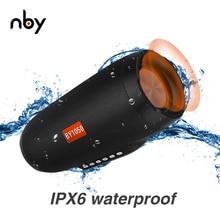 Nby 1050 مكبر صوت بخاصية البلوتوث قابل للنقل FM راديو 3D ستيريو اللاسلكية مكبر الصوت كبيرة هيفي Boombox دعم TF بطاقة Aux قرص USB TWS