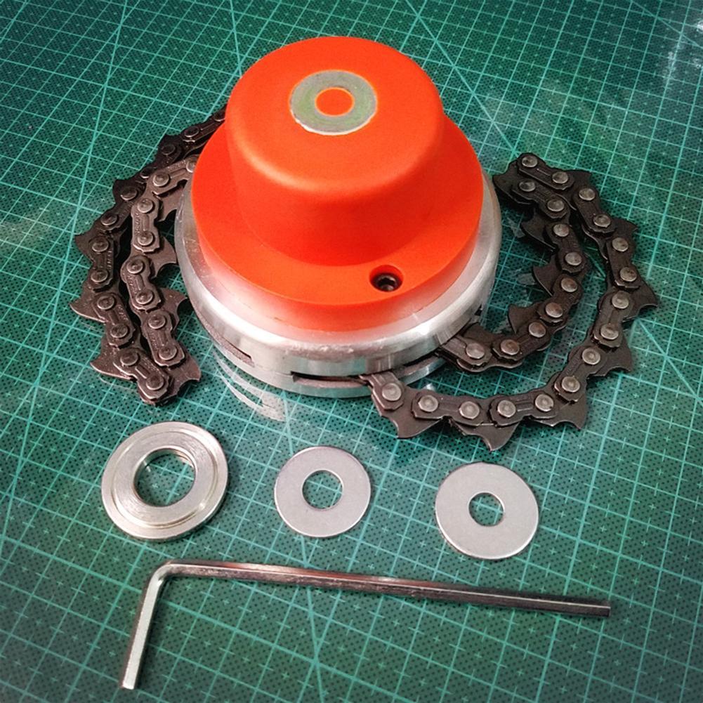 Cabezal de corte Universal para césped de jardín, cortacésped de acero de alta dureza, cortacésped, desbrozadora, herramientas de jardín