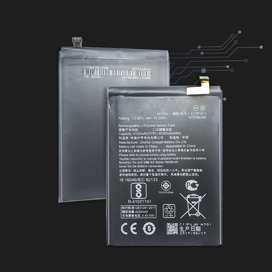 Bateria c11p1611 de ykaiserin para asus zenfone 3 max z3 zc520tl x008db peg para asus 3 x008 x008d 4130 mah capacidade