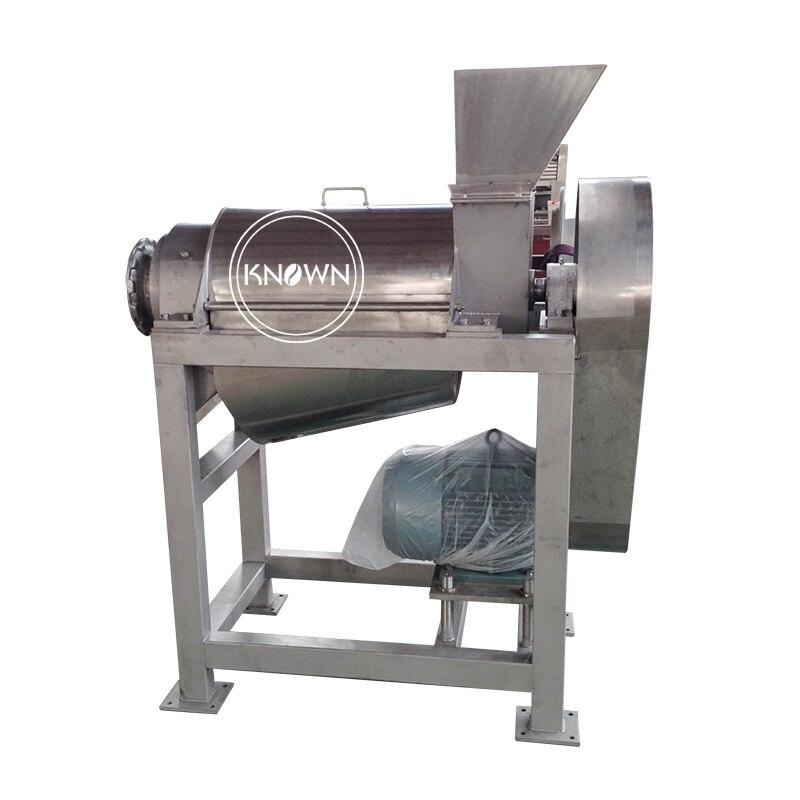 Extrator de suco de frutas comercial 2.5t, capacidade de processamento 400 rpm máquina liquidificadora de suco 5% desconto
