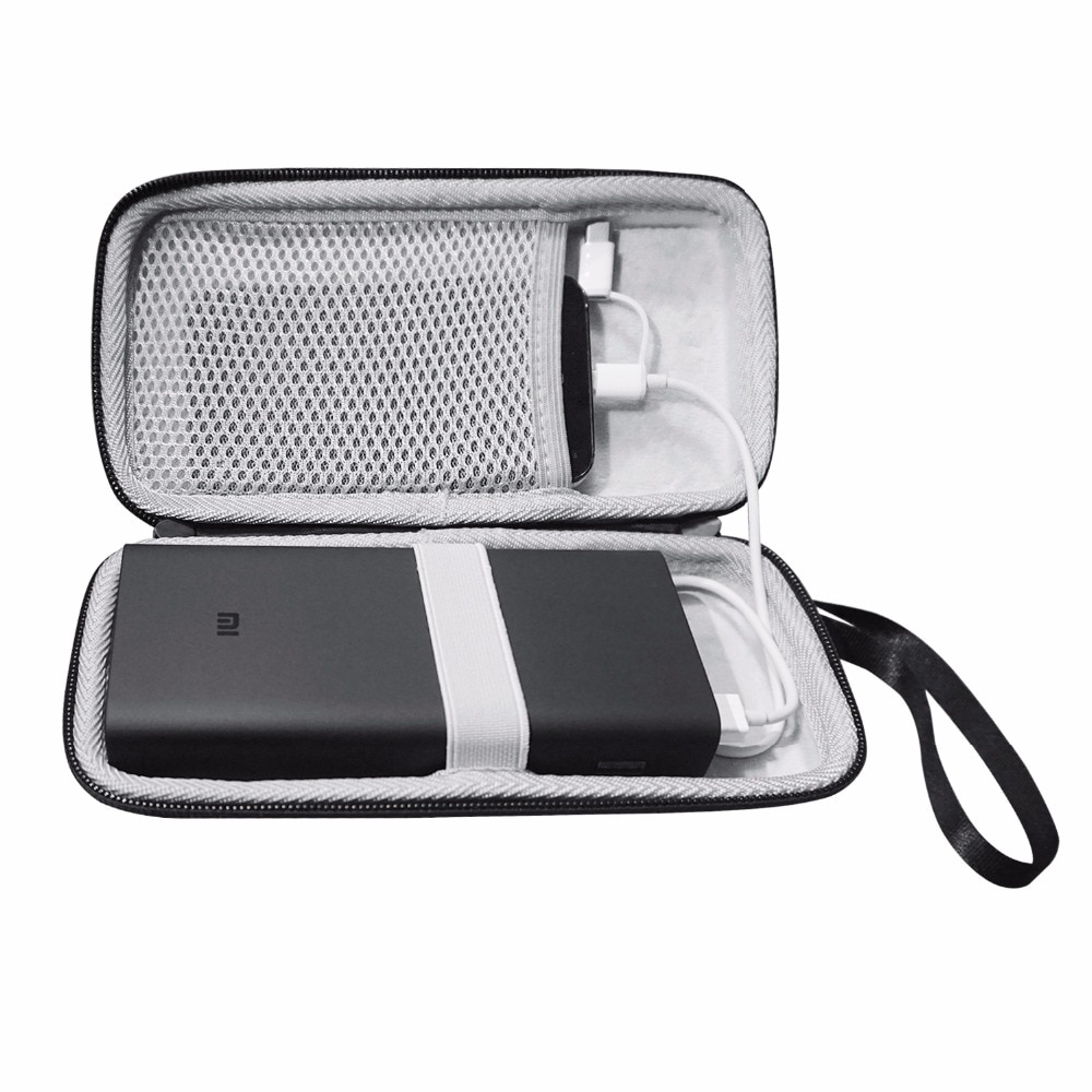 New EVA Hard Pouch Case for Xiaomi Power Bank 3 Pro 20000mAh Cover Charger Bag fitted Case Mi Batter