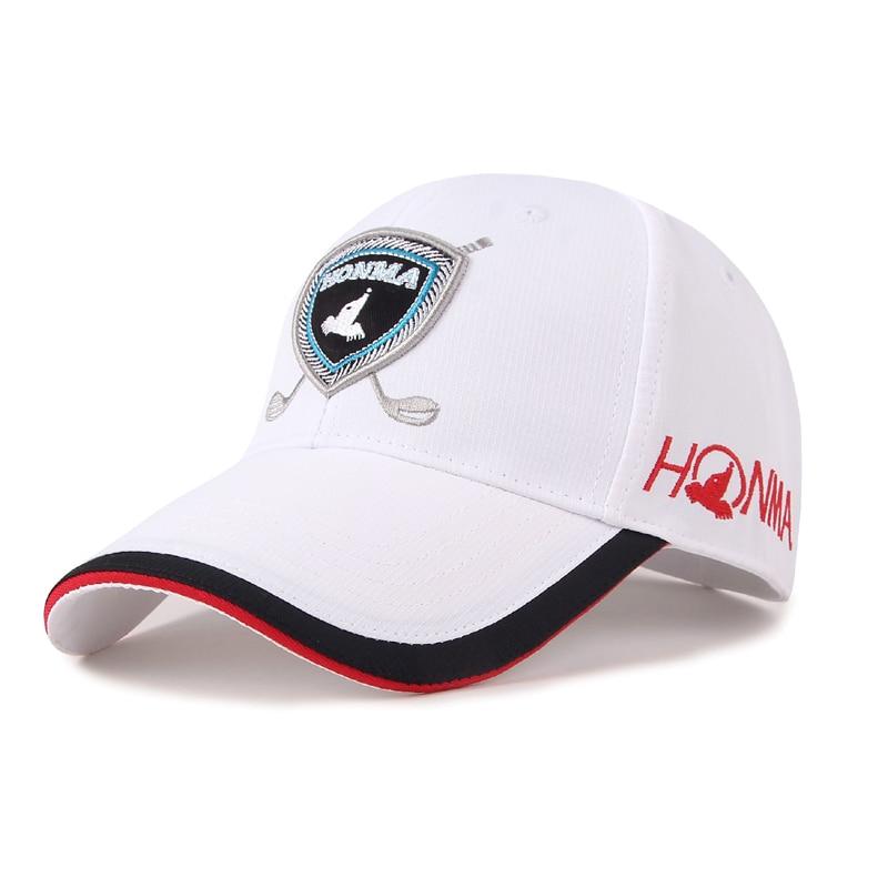 ¡Novedad de 2018! Honma sombrero de golf, gorra profesional, gorra pelota golf, gorra de golf deportiva de alta calidad, sombreros de golf deportivos transpirables