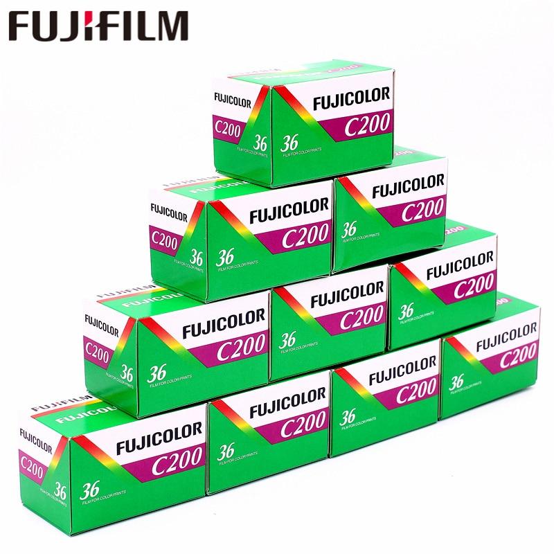 10 рулонов Fujifilm Fujicolor C200 цветная 35 мм пленка 36 для 135 формат Holga 135 BC Lomo