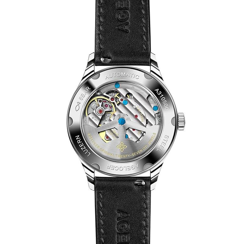 Agelocer Switzerland Top Brand Luxury Women Watch Leather Wrist Bracelet Fashion Ladies Wristwatch relojes mujer montre femme enlarge
