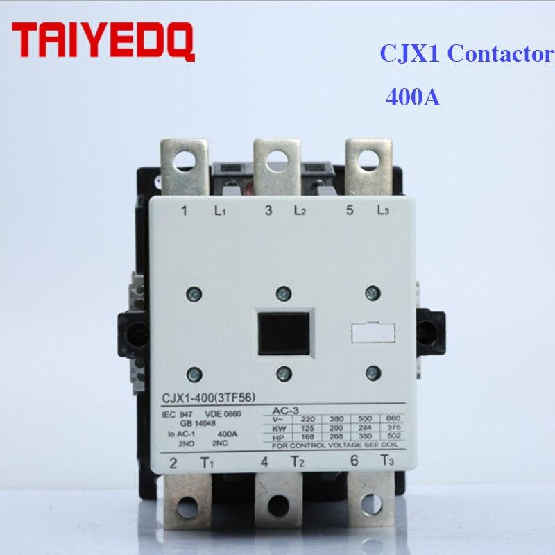 contator magnetico da ca do contator 400a cjx1 400 22 3tf56 de cjx1 contator trifasico