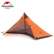 Nouveauté naturerandonnée 1 homme bâche tente personne seule aucun poteau pyramide ultralégère randonnée en plein air Camping tentes
