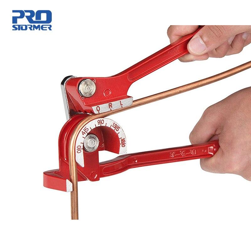 Профессиональный ручной гибочный станок PROSTORMER 3 в 1, алюминиевый медный гибочный станок для труб, Стальной Топливный тормоз, 1 шт.
