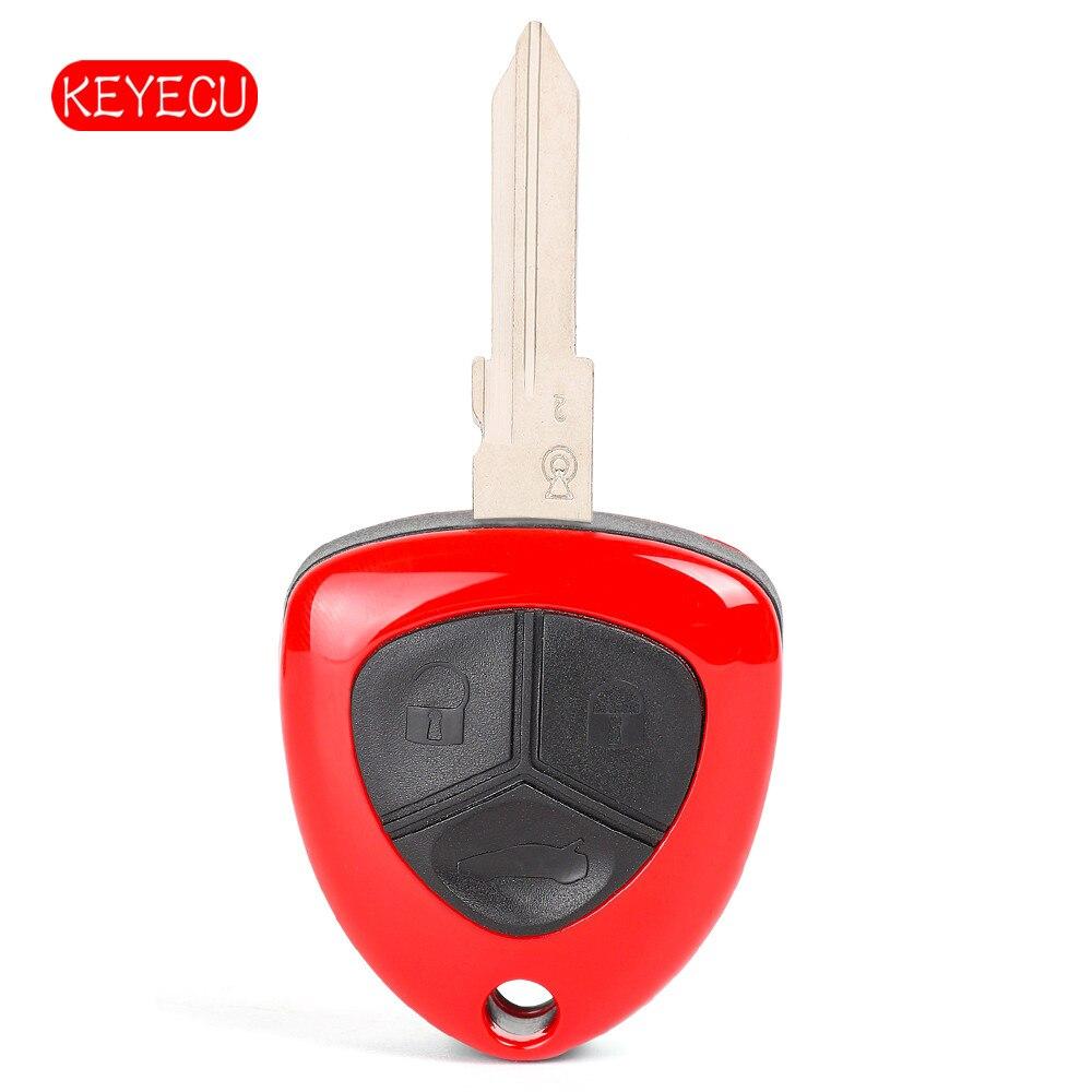 Botón remoto de repuesto keyeco 3 botón 433MHz Chip ID48 para el F430 2005-2009