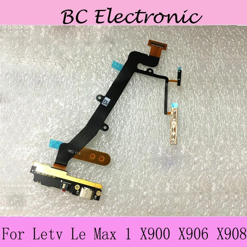 USB Plug Charger sub Board Flex Cable For Letv Le Max /6.33inch/ MX1 X900 X906 X908 X 900