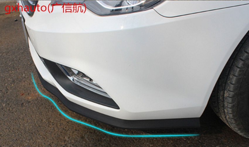 Universal spoiler lábio protetor do carro amortecedor dianteiro lábio splitter corpo kit pára-choques apto para kia audi suzuki sx4 S-CROSS