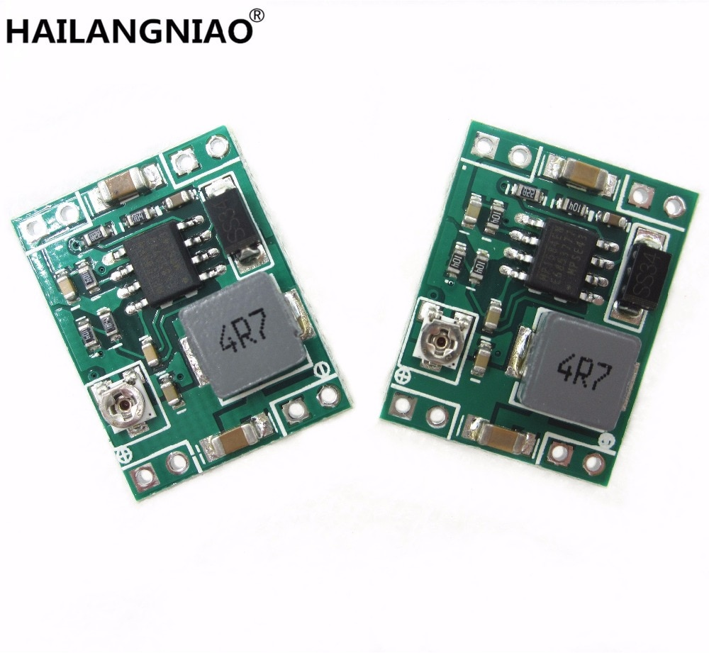 5PCS GW1584 Ultra-small size DC-DC step-down power supply module 3A adjustable step-down module supe